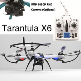 Wholesale Helicopter Rtf - JJRC H16 Yizhan Tarantula X6 Drone with Wide-Angle 5MP 1080P 2MP720P HD Camera 2.4G 4CH 6Axis RTF Dron RC Helicopter Professional Quadcopter