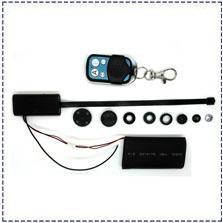 Wholesale Camera Control Box Dvr - Free Shipping Mini Hidden Spy Wireless Button mini Camera Motion detection HD 1080P Mini DVR Black box +wireless remote control T186