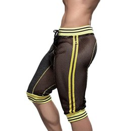 corti uomo yoga Sconti All'ingrosso-Estate Hot Casual allentato Mens Sport Cropped Harem Pantaloni sportivi Pantaloni Jogger Dance Hip Hop Pantaloncini per il tempo libero Yoga Fashion Shorts