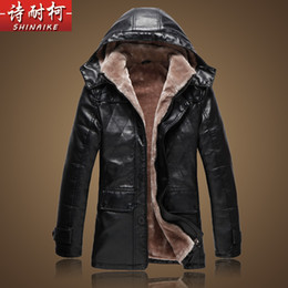 Wholesale Leather Jacket Chinese - NEW TREND mens leather jackets and coats fur winter mens leather jackets and coats motorcycle leather jacket men with M-5XL