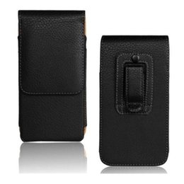 """Wholesale Huawei Ascend Phone Cases - 1PCS Fashion Black Color Belt Clip Pouch Skin Pouch Case for Huawei Ascend P8 5.2"""" Smart Phone Bag"""