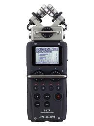 Vendita calda ZOOM H5 Registratore portatile a quattro tracce Registratore professionale a 4 tracce 2014 nuova versione aggiornata H4N Recording pen da