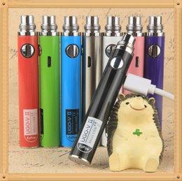 Wholesale Ego Ce4 V2 - New UGO-V2 Battery E Cigarette Ego Batteries for 510 Thread Vaporizer mt3 CE4 CE5 CE6 ViVi Nova DCT atomizer 650 900mah Colorful 510 battery