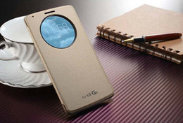 Wholesale Watch Phone Case - Fashion phone cases for lg g3 cases with a circle window Convenient to watch the time and incoming call so luxury lg g3 phone cases