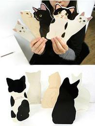 Gros-30pcs / lot Nouvelle arrivée belle 3D chat carte de vœux avec enveloppe carte de Noël Festival / Valentine 's drop shipping ? partir de fabricateur