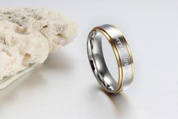 Wholesale Great Love - ORSA New Fashion Men Women Jewelry Titanium Steel Forever Love Heart Ring Wedding Engagement Rings OTR58
