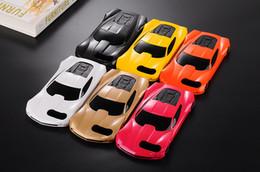 Iphone fall auto 3d online-Luxus 3D Cartoon niedlichen sportwagen Racing PC case Für iPhone 5 5 S 5SE 5G 6 S 7 Plus PC Harte Zurück Kunststoff mit Ständer Halter Telefon abdeckung