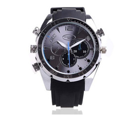 Wholesale New Arrival Spy Camera - New Arrival Hot Sale 1920*1080P HD Waterproof Spy Watch Camera with IR Night Vision Hidden Cam 8GB Drop Shipping