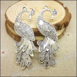Wholesale Phoenix Fashion - Free shipping! New! Fashion 16pcs Antique silver Charms Phoenix Pendant Fit Bracelets Necklace DIY Metal Jewelry Making