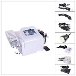 Wholesale Laser Anti Cellulite - potable lipo laser slimming machine cavitation rf radio frequency lipolaser body slimming machine for skin lifting and anti cellulite