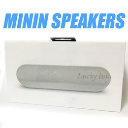 Wholesale Pill Sound Box - Mini Bluetooth Speaker Protable Wireless Stereo Music Sound Pill plus Handle Box Audio Super Bass With retail box free shipping