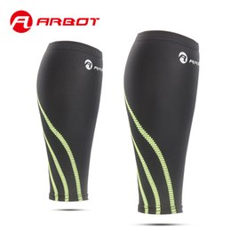 Wholesale Compression Calf Guard - Wholesale- Arbot Fashion Leg Warmer Sleeve Compression Calf for Basketball Volleyball Outdoor Stretch Shin Guards Men Women gaiters
