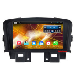 Wholesale Dvd Canbus - 1024*600 Quad Core Android 4.4.4 Car DVD for Chevrolet Cruze with Radio,RDS,Canbus,Mirrorlink WIFI OBD 3G DVR+Free 8G Map