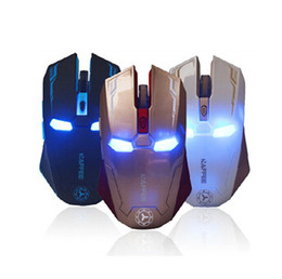Wholesale Wireless Gaming Mouse Cheap - Wholesale-2015 New Best Cheap Wireless Mouse 2.4G Microsoft 2000 DPI Optical Gaming USB Notebook Smart Black ABS Cordless Mouse