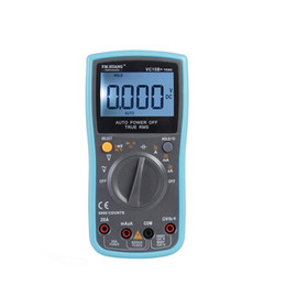 Wholesale Portable Multimeter - VC-15B+ portable auto range true RMS solid housing digital multimeter with rubber protective holster in 16 functions