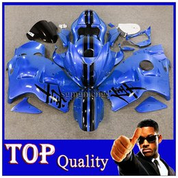 Wholesale W11 Cover - blue Fairing For Suzuki GSXR 1300 1997 1998 1999 2000 2001 2002 2003 2004 2005 2006 2007 GSXR-1300 97-07 W11 with Tank Seat Cover Hayabusa G
