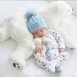 Wholesale Kawaii Room - Newborn Baby Pillow Polar Bear Stuffed Plush Animals Kawaii Plush Baby Soft Toy Kids Toys For Children's Room Decoration Doll