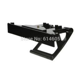 Wholesale Tv Clip Mount Kinect Sensor - TV Clip Mount Dock Stand Holder for Microsoft Xbox One Kinect Sensor Camera holder metal stand holder for iphone