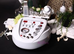 Wholesale stretch mark machines - New arrival 5 Functions DIAMOND MICRODERMABRASION DERMABRASION Peeling Hot Cold Hammer Skin Scrubber MACHINE Stretch marks Fine lines treat