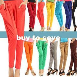Wholesale Harem Pants For Ladies - Free shipping! 2013 New Arrival Korean Design Lady Harem Pants Trousers Bottoms Leggings for four seasons