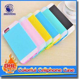 Wholesale Cover Follows - 2015 Shockproof Case TPU Outside Shell PC Back Cover Following From Triad Case For iPhone 6 6S