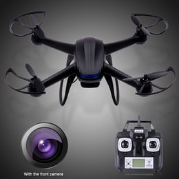 Wholesale Hd Camera Ufo Aircraft - New DM007 HD camera 4CH RC Airplanes Drones 4 axis Remote control aircraft RC Airplane 6-axis gyroscope with 2 million HD camera UFO