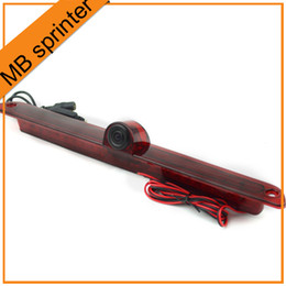 Wholesale Mercedes Benz Rear View Camera - Vardsafe New Car Rear View Backup Brake Light Camera For Mercedes-Benz Sprinter VW Crafter Free Shipping