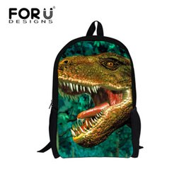Wholesale cool backpacks for boys - New 3d Animal Backpack for Boys Back School,Cool Dinosaur Print Backpacks for Teenage,Students Bag Pack for Primary School