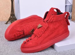 Wholesale Stock Brand Shoes - Latest Designer Germany Brand patrick mohr Men Shoes Triangle Men Sneakers Red Black Skyblue Shoes In Stock High Quality Flats