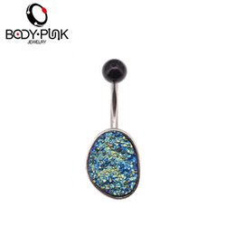 Wholesale Female Body Jewelry - BODY PUNK Steel Clear CZ Bowknot Industrial Barbell Belly Button Rings Fake Percing Ombligo Nombril Female Navel Body Jewelry