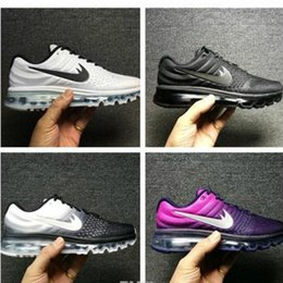 Wholesale Top Selling Cushion - Top Maxs 2017 Men Running Shoes Original Quality Maxes 2017 Cushion Sneaker Mens Newest Release Sneaker Hot Selling Size 36-46