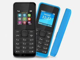 2019 telefone mikro-sim-karten Hot Bar entsperrt Telefon FM 4 SIM-Karte 4 Stand 1.44 Zoll 105 Handy mit FM-Radio mit Box angerufen rabatt telefone mikro-sim-karten