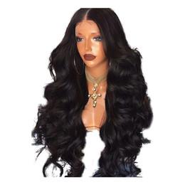 Frontal de seda ondulado online-Hotselling ondulado brasileño completo encaje pelucas de cabello humano Glueless Pre desplumado peluca frontal de encaje con base de seda nudos blanqueados