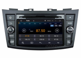 """Wholesale Dvd Player Suzuki Android 3g - 4-Core 1024*600 HD 2 din 7"""" Android 4.4 Car DVD Player for Suzuki Swift 2011-2012 With 3G WIFI Bluetooth IPOD TV Radio RDS USB AUX IN"""