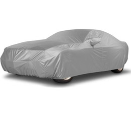 Wholesale Sun Protection Car Covers - Indoor Outdoor Full Car Cover Sun UV Snow Dust Resistant Protection Size S M L XL Car Covers Free Shipping