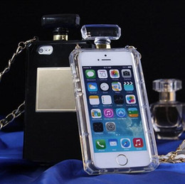 Wholesale Clear Galaxy S4 Case - Perfume Bottle Clear TPU Case Soft Cover for iPhone 5 5s 4s 6 Plus 4.7'' 5.5'' for Samsung Galaxy S4 S5 Note 3 4 Handbag style