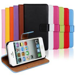 Wholesale S2 Plus Case - GENUINE Wallet Credit Card Stand Leather Case cover for iphone 4 4s 5 5s SE 5C 6 6S 7 6 PLUS 7 PLUS Galaxy S2 S3 S4 S5 S6 S6 EDGE S7 50pcs