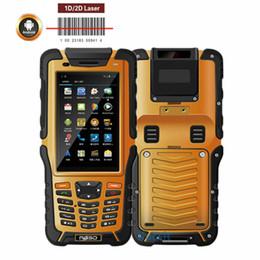 2019 definição do cartão usb Venda por atacado- Kcosit S50 Portátil Handheld Android PDA Coletor de Dados Reader 1D 2D Barcode Scanner A Laser 3 GB RAM À Prova D 'Água Telefone Luz Solar 4G