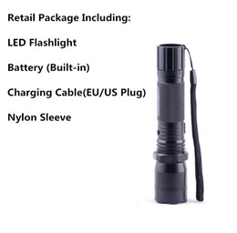 Wholesale Linternas Led - Hot Sale New 1101 Type Edc Linternas Light LED Tactical Flashlight Lanterna Self Defense Torch Free Shipping