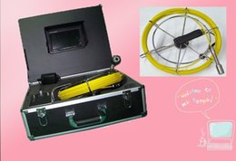 Wholesale Pipe Camera Keyboard - 30M Cable With Keyboard ,With DVR, 512 Transmitter Pipe Inspection Camera TEC-Z710DLK
