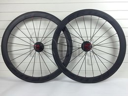 Wholesale Carbon Wheels Tubular Ffwd - Road Bike 50mm Carbon black FFWD Wheels full Carbon fiber Wheelset matte glossy Carbono wheels Tubular clincher Carbon Wheel