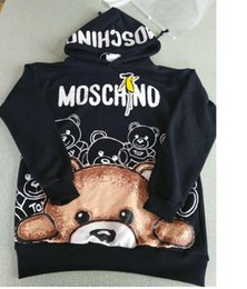 Wholesale Designer Fashion Hoodies - Bear Latest designer palace Sweatshirt men women des LOGO CDG Hoodie sportswear Sweater Hoodie hip Harajuku tracksuit Jackets Pullover Men