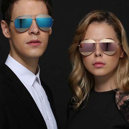 Wholesale Quality Visual - high quality personality New fashion aviator sunglasses metal exquisite sunglasses atmosphere glasses Wear comfortable visual good