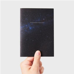 Wholesale Fitted Sheet Patterns - Wholesale- Cool fashion creative universe star pattern notebook 10.5*15cm 36 pages 2017 students gift
