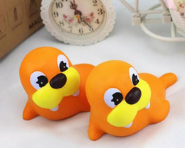 Wholesale Fantasy Home Decor - 12cm Squishy Sea Lion Slow Rising Squeeze Stress Reliever Pinch Toy Kawaii Animals Doll Kids Home Decor Gift 300pcs