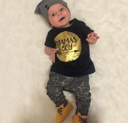 Wholesale Cheap Baby Clothes Shipping - 2016 cartoon boy summer suit (short-sleeved + harem pants) children casual clothes cheap baby clothes free shipping 6set 12pcs A23