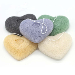 Wholesale Natural Body Cleanse - Konjac Sponge Powder Puff Herbal Facial Sponges Pure Natural Wash Face And Body Flutter Plant Fiber Making Cleansing Tools 200pcs