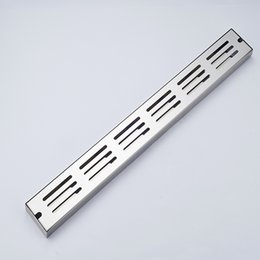 Wholesale Polished Chrome Bathroom Accessories - Wholesale And Retail Modern Square Stainless Steel Floor Drain Filler Bathroom Accessories Deodorang Sealing Chrome