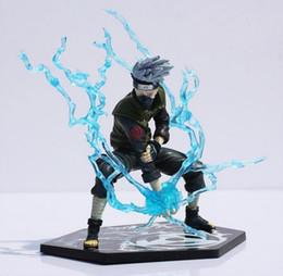 Wholesale Nendoroid Naruto - Nendoroid Naruto Ninja Copiador Hatake Kakashi with Lightning Blade PVC Action
