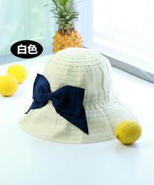 Wholesale Japanese Summer Hats - Newest nice bowknot Bucket hats Buckets caps Japanese Bucket Hats Baseball Caps Cap Snap Back Snapbacks Hat High Quality Mixed Order